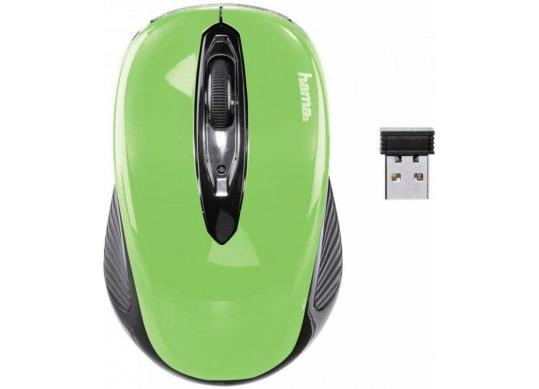 Mouse Hama AM-7300 2.4GHz, Wireless, Apple Green