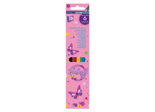 Creioane color CoolForSchool 06cul Classic Butterfly
