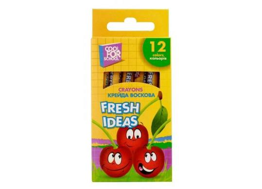 Creioane cerate CoolForSchool 12cul Fresh ldeas