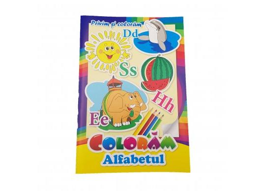 Carte coloram ALFABETUL CN0066